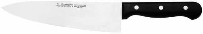 Kuchařský nůž planžetový Burgvogel Solingen 4860.401.20.0 délka ostří 20 cm