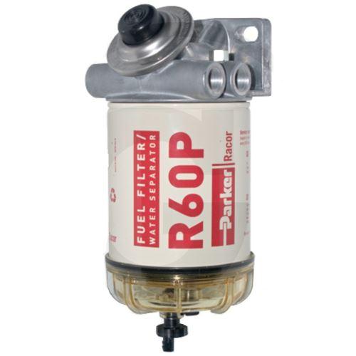 Parker Racor R60P palivový filtr vhodný pro sklízecí mlátičky New Holland