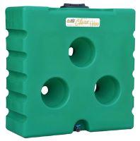 Nádrž na dešťovou vodu La GÉE 1500 l zelená Aquastock
