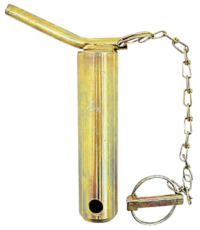Kolík kat. 2 třetího bodu s řetězem a závlačkou průměr 25 mm délka C=135 mm D=151 mm