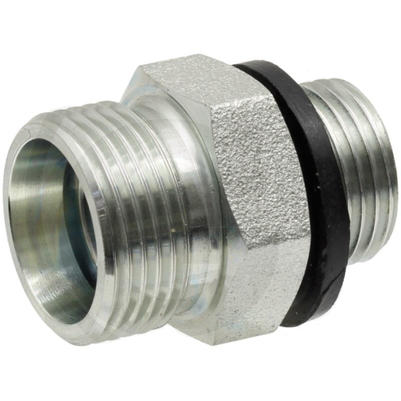 Hydraulické šroubení přímé X-GER 12 L 3/8 – WD bez přesuvné matice a střižného kroužku 25