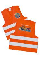 Rolly Toys - dětská reflexní vesta oranžová