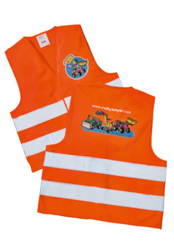 Rolly Toys – dětská reflexní vesta oranžová