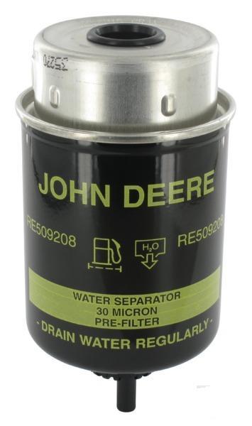 John Deere RE526557 palivový filtr sekundární