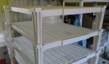 Police na sýry plastová stohovatelná