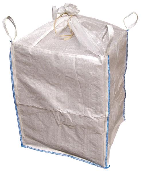 Velkoobjemový vak Big Bag 90 x 90 x 110 cm s vývodem a násypkou